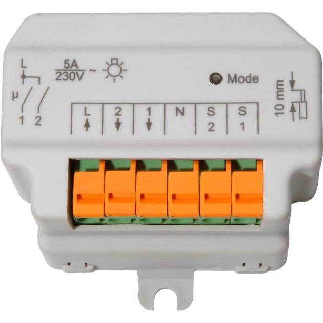 HM-LC-Sw2-FM IP20 Blanc actionneur électrique, Interrupteur