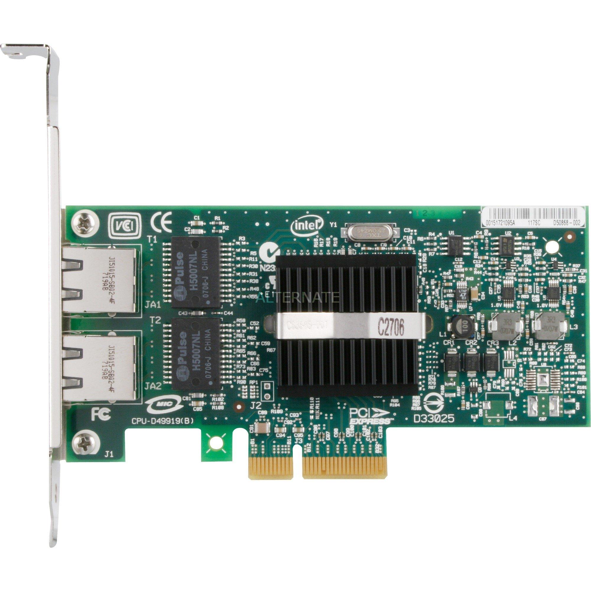 PRO/1000 PT Dual Port Server Adapter, Carte réseau