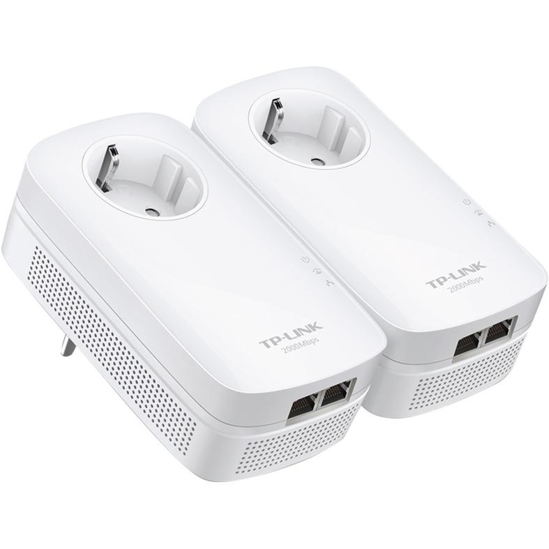 TL-PA9020P KIT Ethernet/LAN Blanc 2pièce(s) Adaptateur réseau CPL, PowerLAN