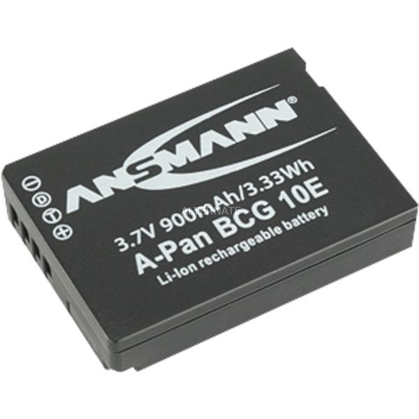 5044593 Batterie A-Pan BCG 10E pour appareil photo Panasonic BCG 10E 3,7V/900 mAh, Batterie appareil photo