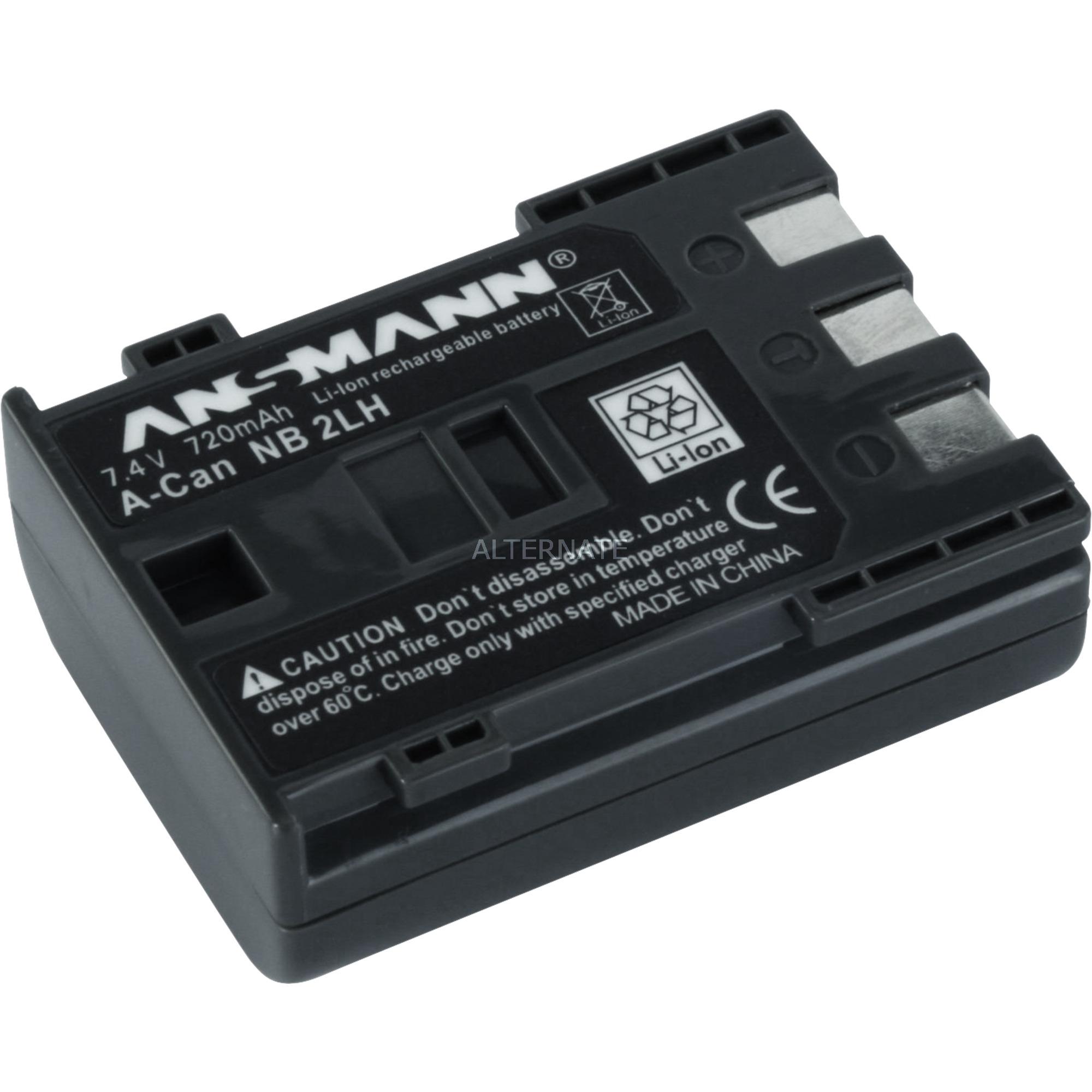 A-Can NB 2 LH, Batterie appareil photo