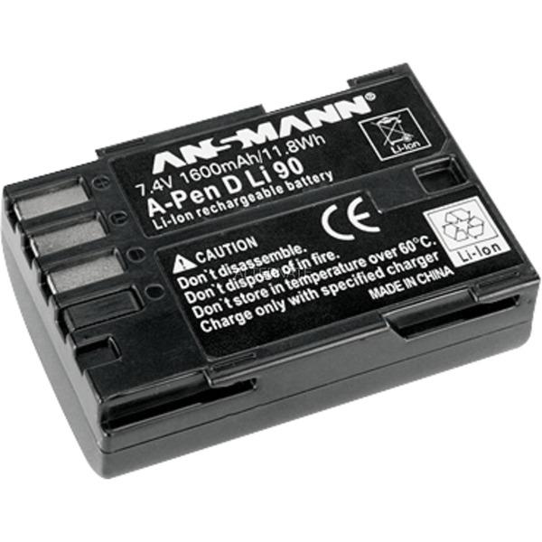 A-Pen D-Li 90 Lithium-Ion (Li-Ion) 1600mAh 7.4V batterie rechargeable, Batterie appareil photo