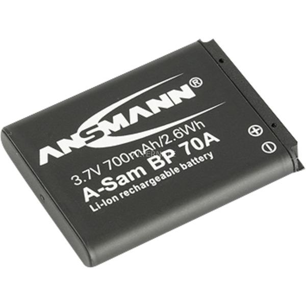 A-Sam BP 70 A, Batterie appareil photo