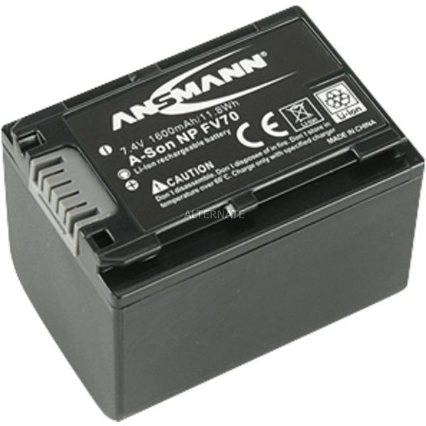A-Son NP FV 70 Batterie pour Appareil Photo / Caméscope 7,4V 1600 mAh, Batterie appareil photo