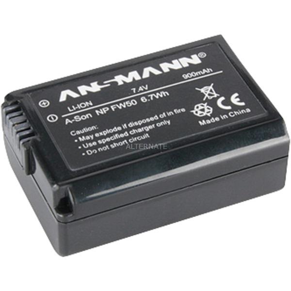 A-Son NP FW 50 Batterie pour Appareil Photo / Caméscope 7,4V 900 mAh, Batterie appareil photo