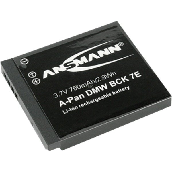 Batterie A-Pan BCK 7E pour Appareil photo, Batterie appareil photo