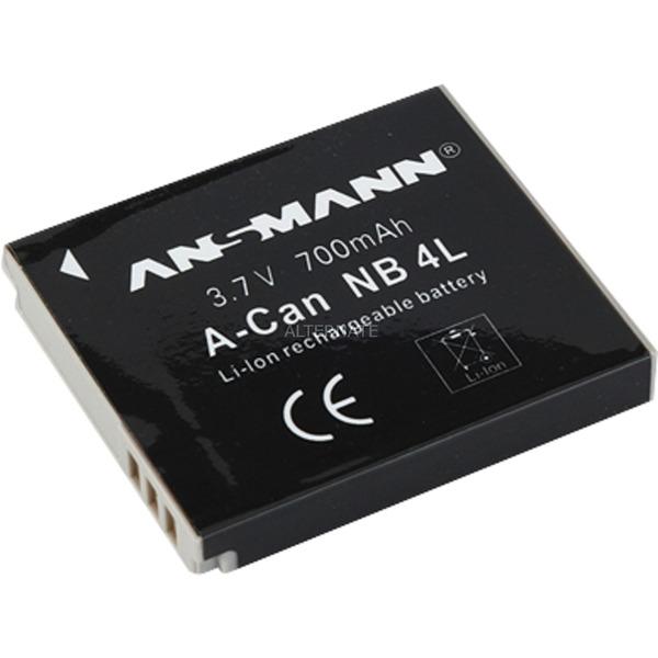 Batterie pour Appareil Photo/Caméscope A-Can NB 4 L 3.7V 700 mAh, Batterie appareil photo