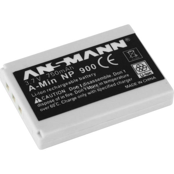 Batterie pour Appareil Photo/Caméscope A-Min NP900 3.7V 750 mAh, Batterie appareil photo