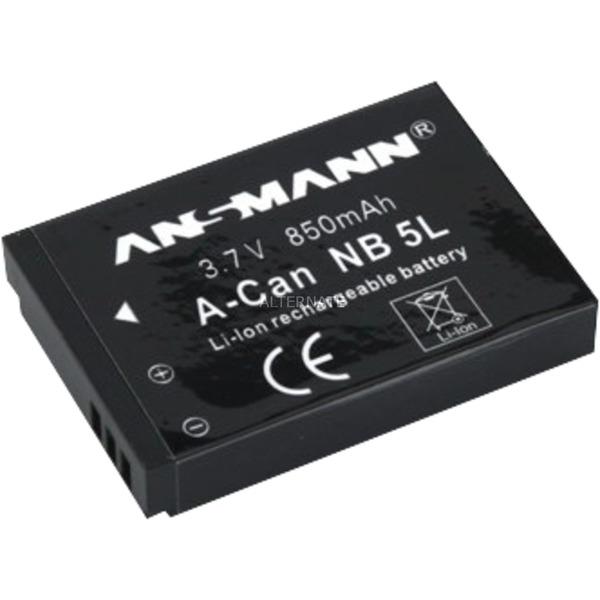 Batterie pour Appareil Photo / Caméscope A-Can NB 5 L 3.7V 750 mAh, Batterie appareil photo