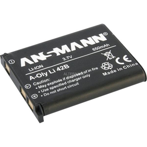 Batterie pour Appareil Photo / Caméscope A-Oly 42B 3.7V 605 mAh, Batterie appareil photo