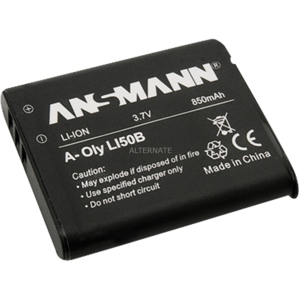Batterie pour Appareil Photo / Caméscope A-Oly Li 50 3.7V 770 mAh, Batterie appareil photo
