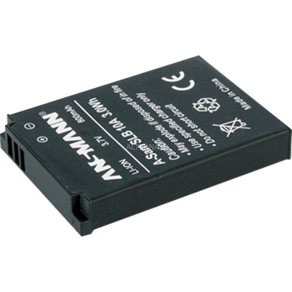 Batterie pour Appareil Photo / Caméscope A-Sam SLB 10A 3.7V 800 mAh, Batterie appareil photo