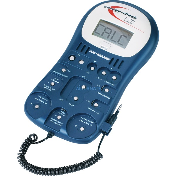 Testeur de piles avec écran LCD, Appareil de mesure