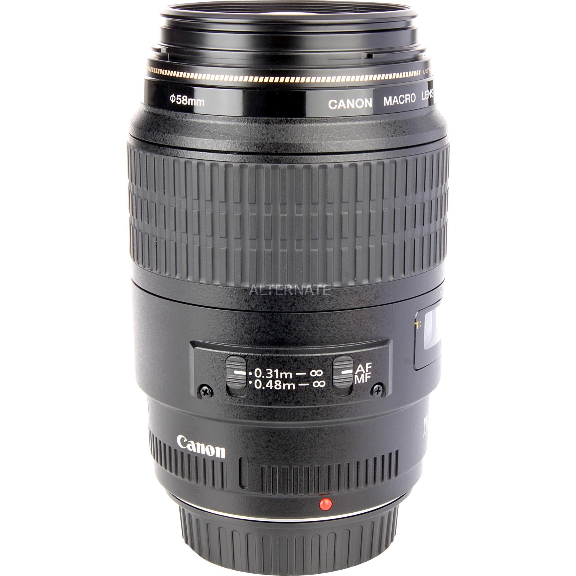 EF 100mm f/2.8 Macro USM SLR Objectif macro Noir, Lentille
