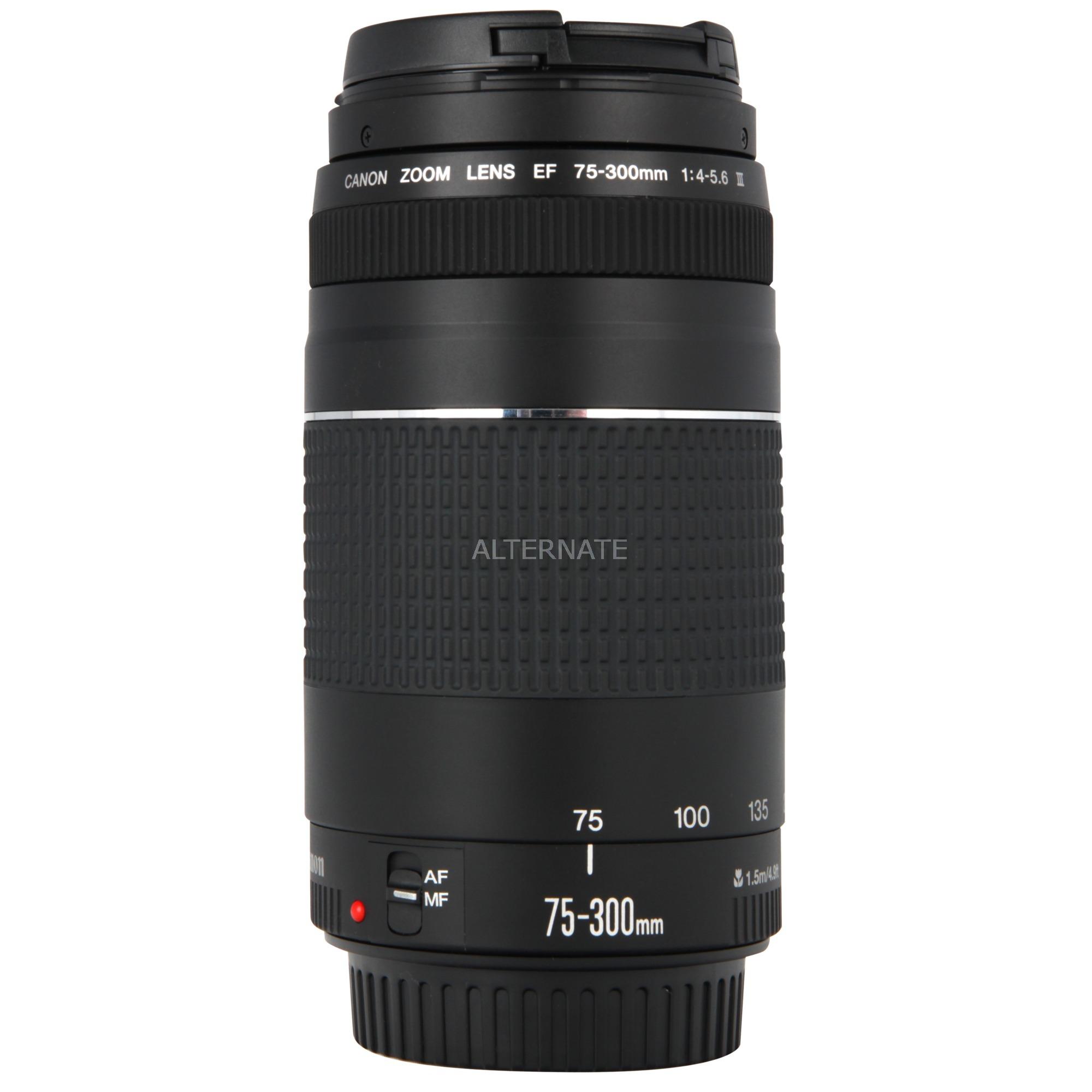 EF 75-300mm f/4.0-5.6 III SLR Téléobjectif Noir, Lentille
