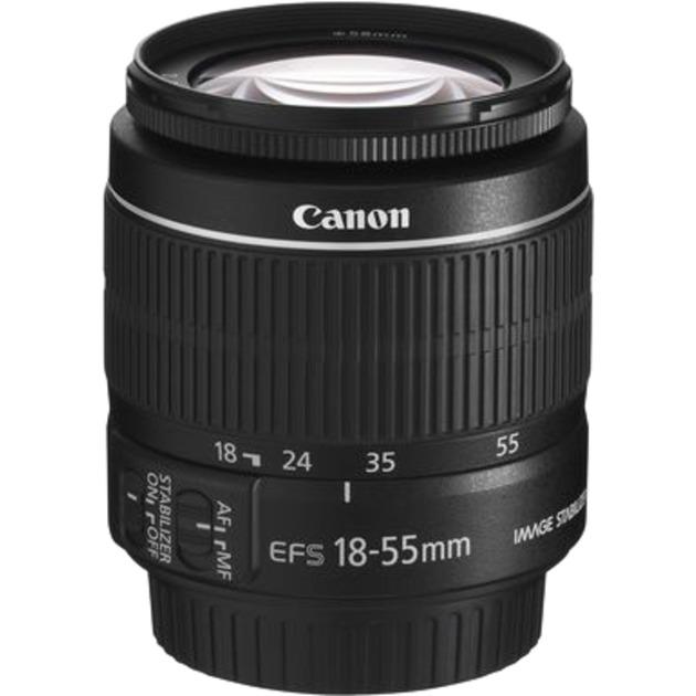 EF-S 18-55mm f/3.5-5.6 IS II SLR Objectif zoom standard Noir, Lentille