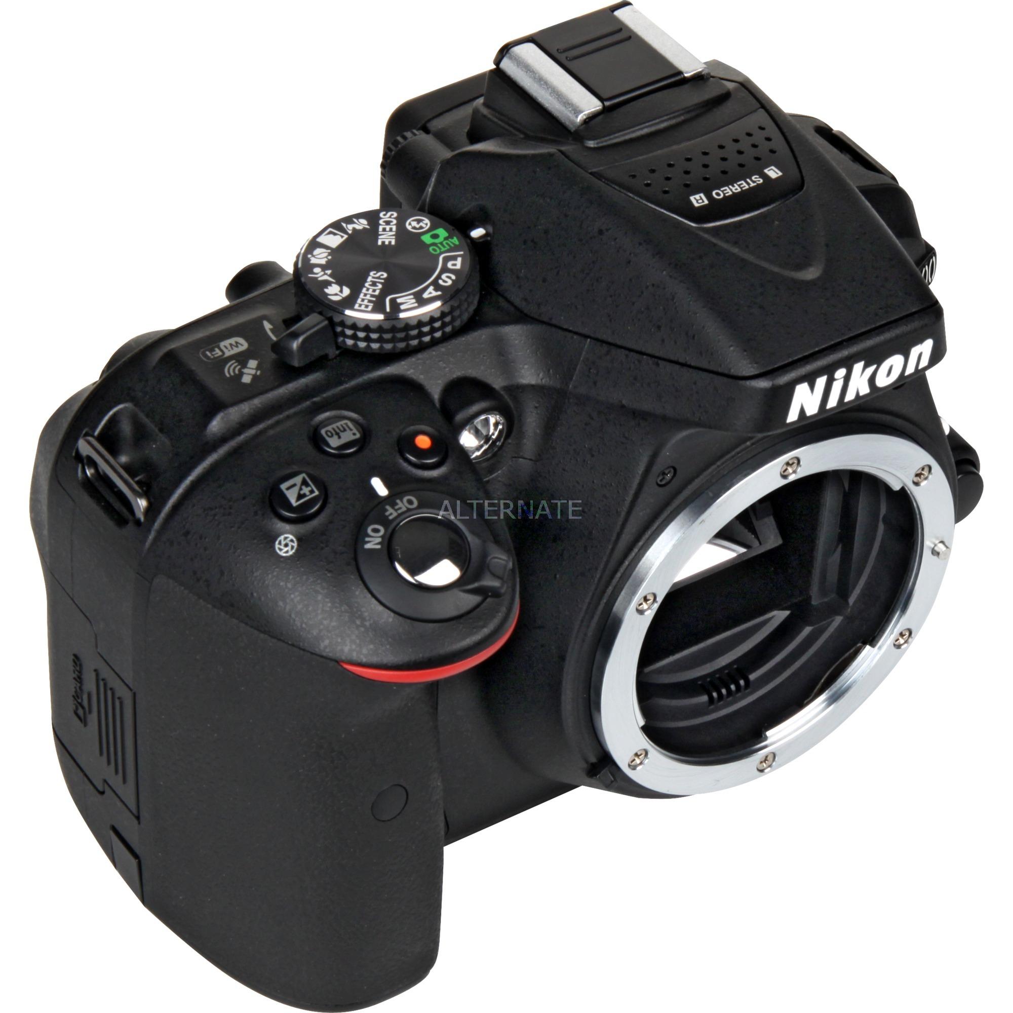 D5300 Boîtier d'appareil-photo SLR 24.2MP CMOS 6000 x 4000pixels Noir, Appareil photo numérique