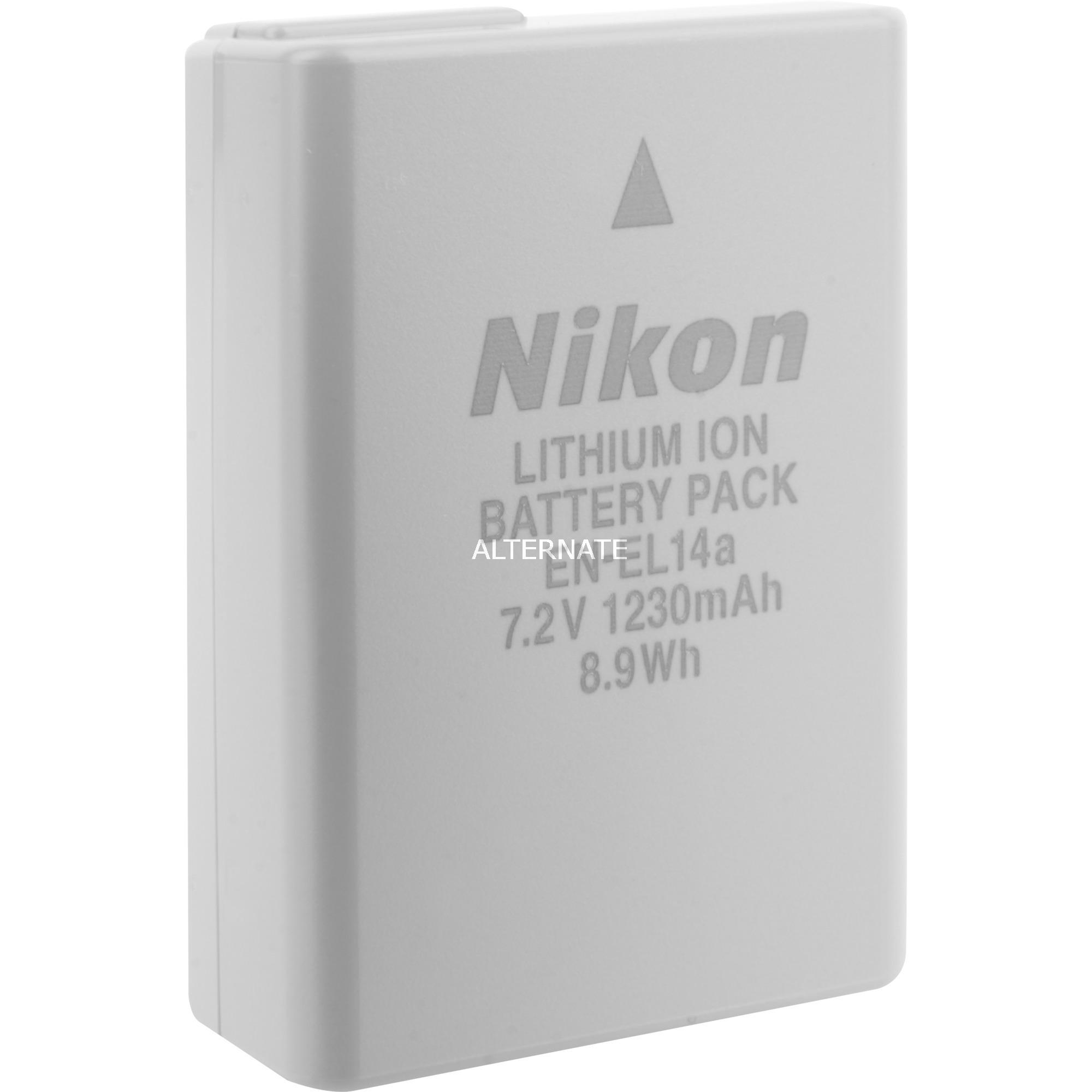 EN-EL14a, Batterie appareil photo