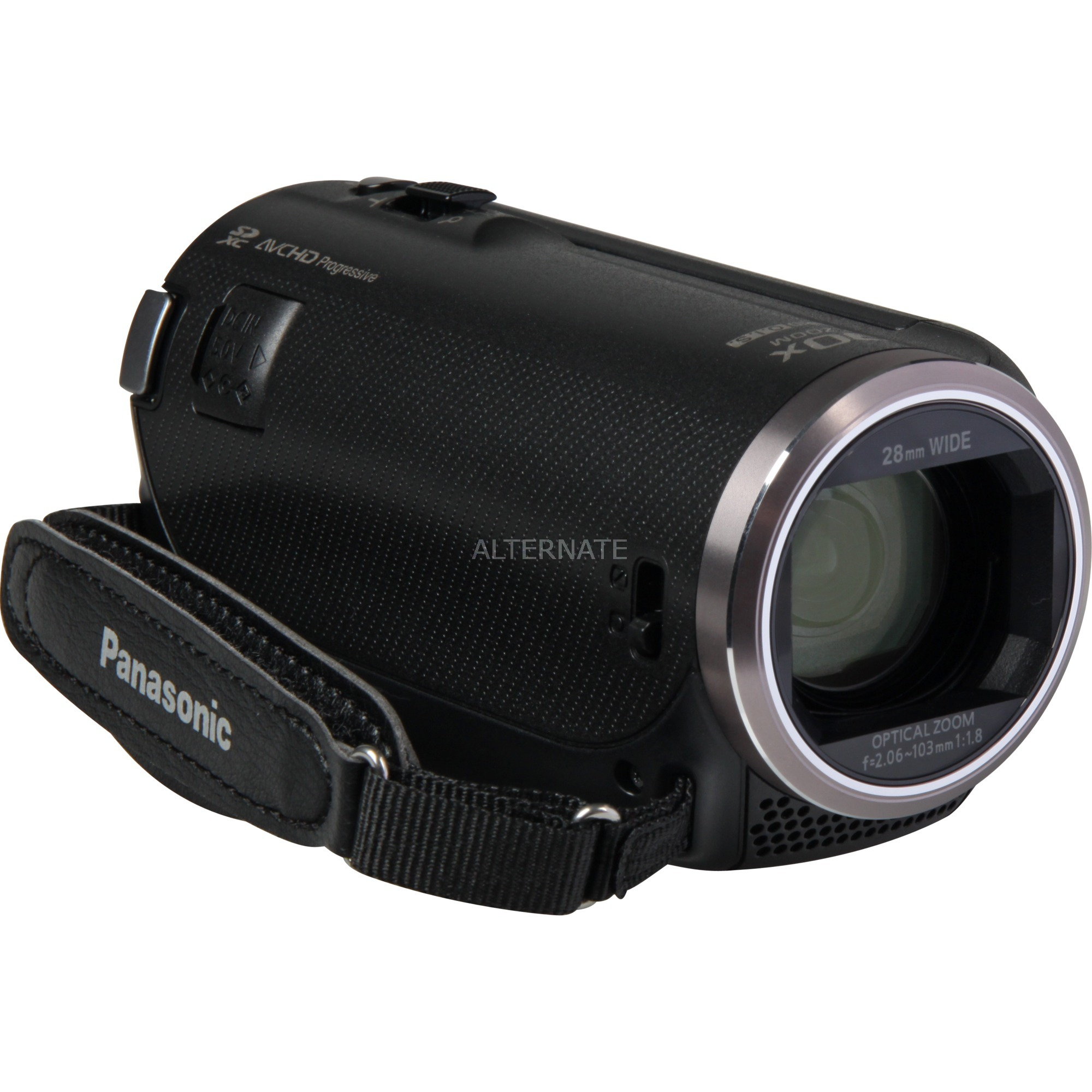 HC-V180EG-K Caméscope portatif 2.51MP MOS BSI Full HD Noir caméscope numérique, Caméra vidéo