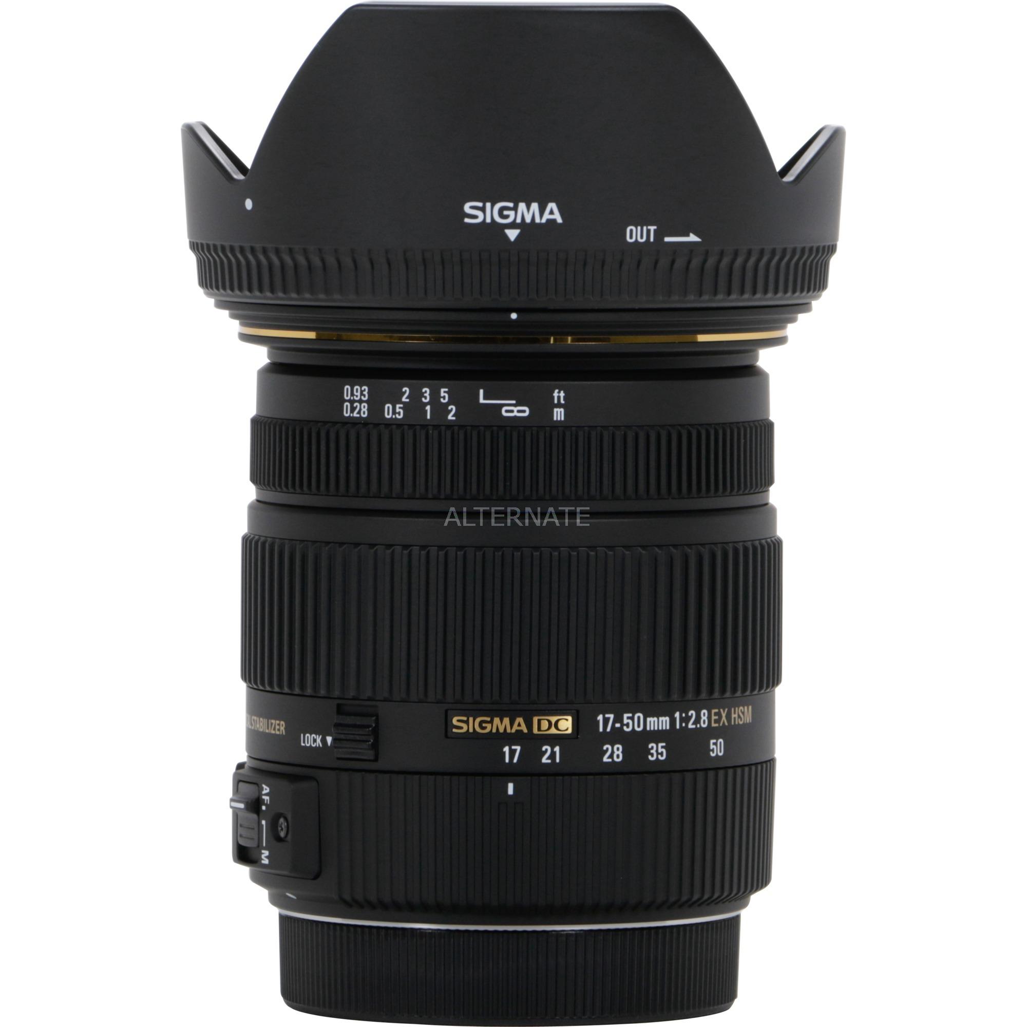 17-50mm F2.8 EX DC OS HSM SLR Objectif zoom standard Noir, Lentille