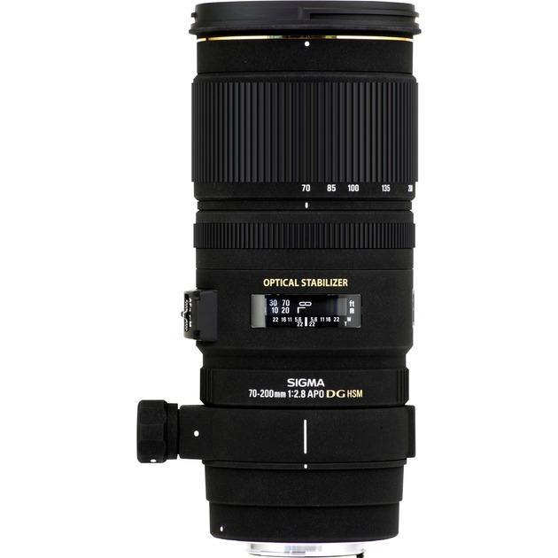 APO 70-200mm F2.8 EX DG OS HSM Noir, Lentille