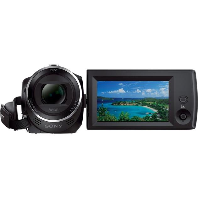Caméscope Handycam avec objectif grand angle 29,8 mm, Caméra vidéo