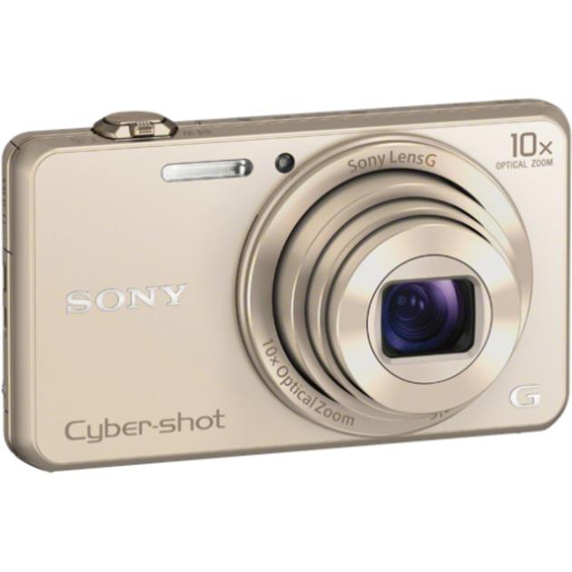 Cyber-shot Appareil photo compact WX220 avec zoom optique 10x, Appareil photo numérique