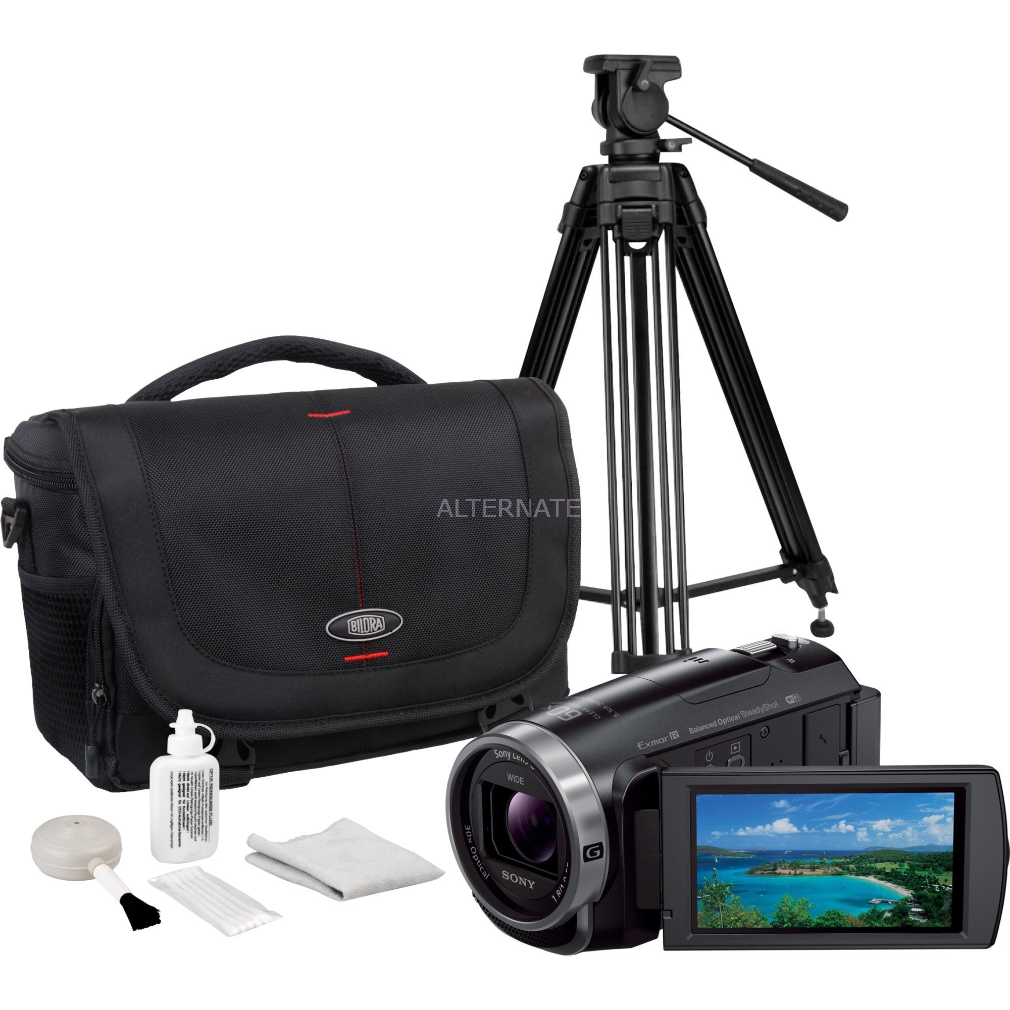 HDR-CX625 + Tasche + Stativ + Clean Kit