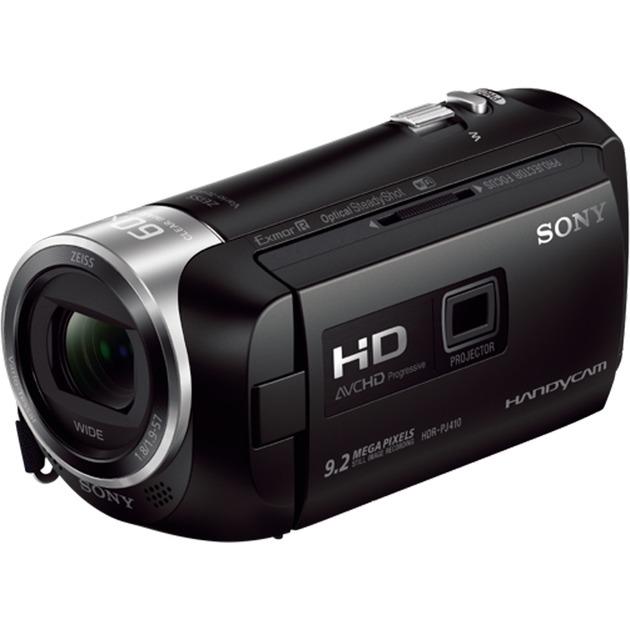 HDR-PJ410 Caméscope Full HD avec Projecteur Intégré Zoom Optique, Caméra vidéo