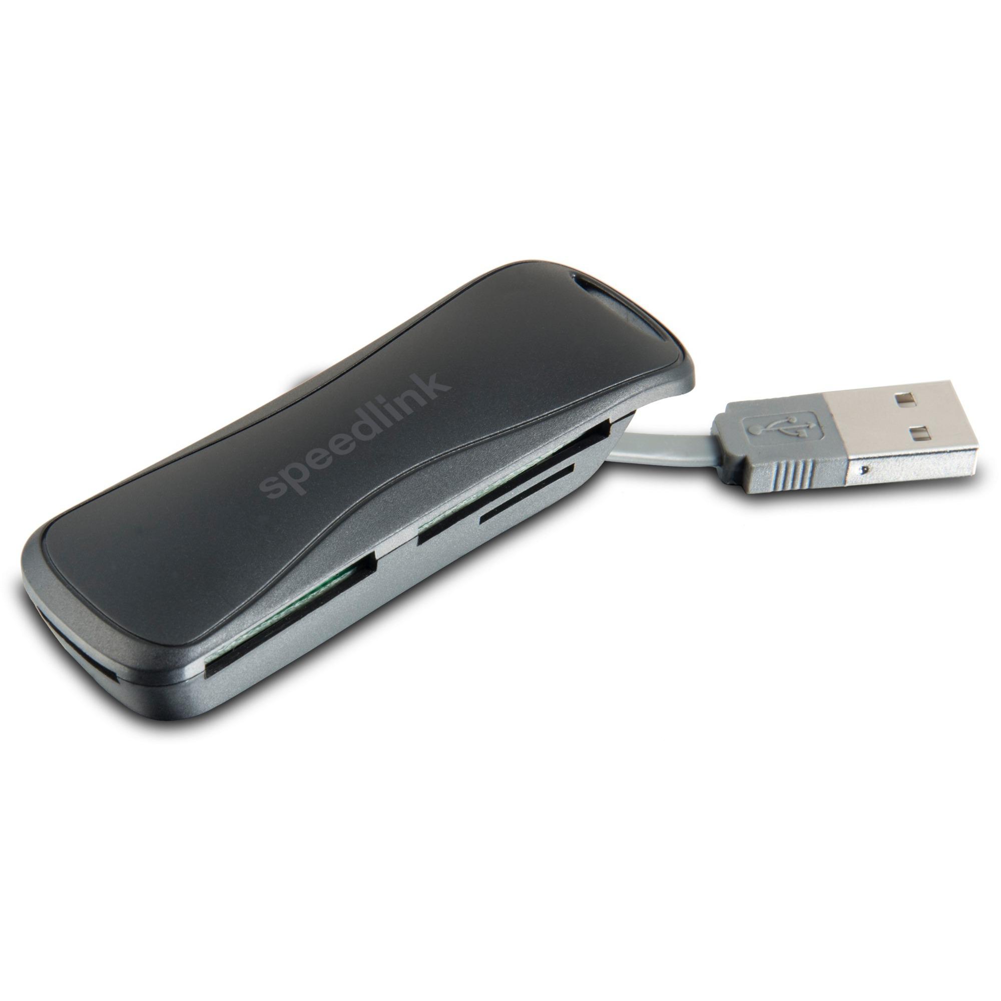 SL-150001-BK USB 2.0 Noir lecteur de carte mémoire