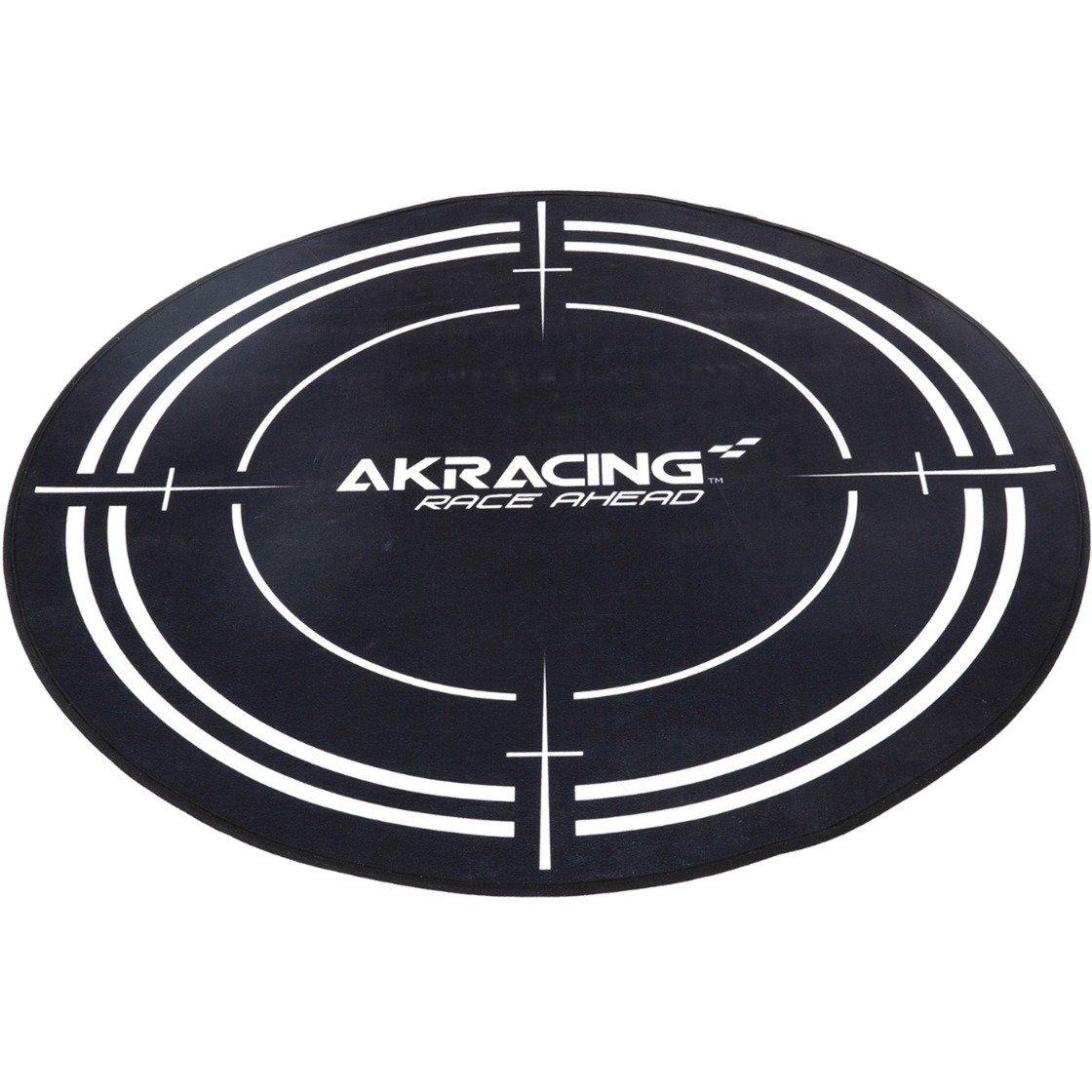 AK-FLOORMAT-BK Noir Polyester protection de surfaces, Tapis