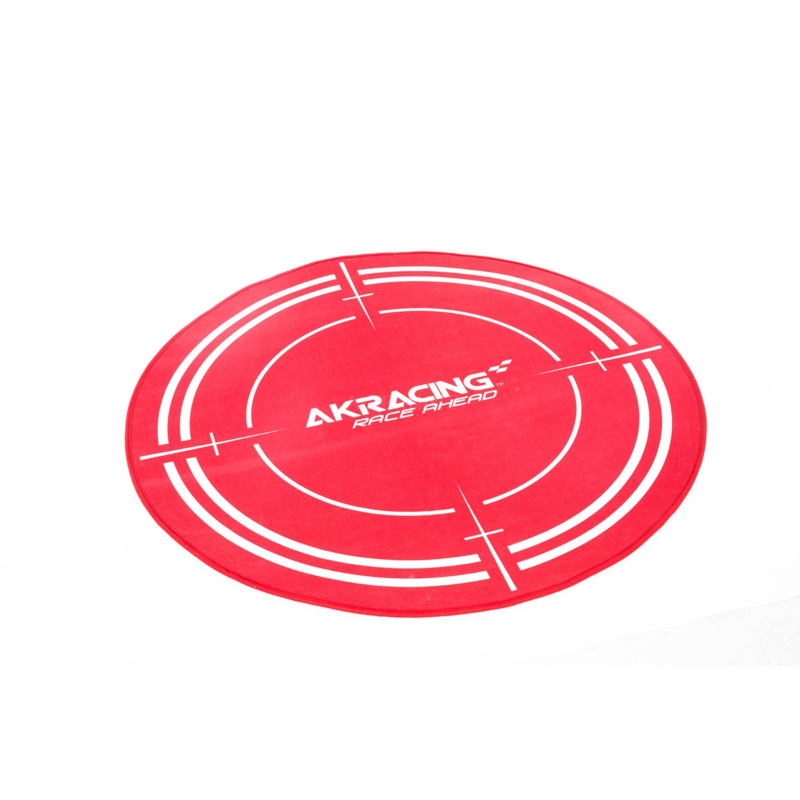 AK-FLOORMAT-RD Rouge Polyester protection de surfaces, Tapis