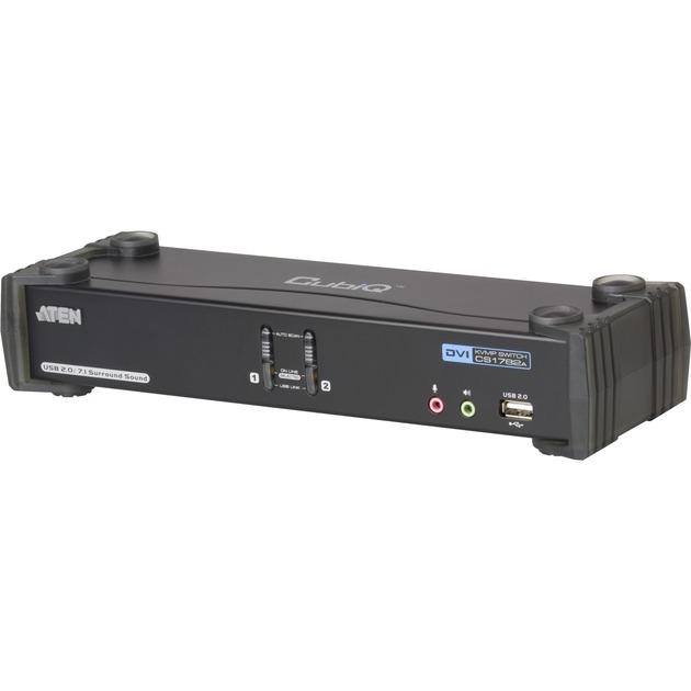 AT-CS1782A Commutateurs écran-clavier-souris, Commutateur KVM