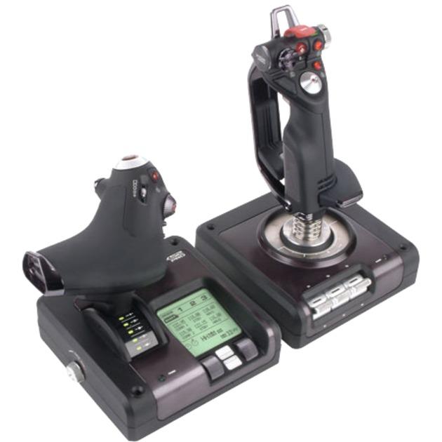 G Saitek X52 Pro Flight Control System, Manette de jeu