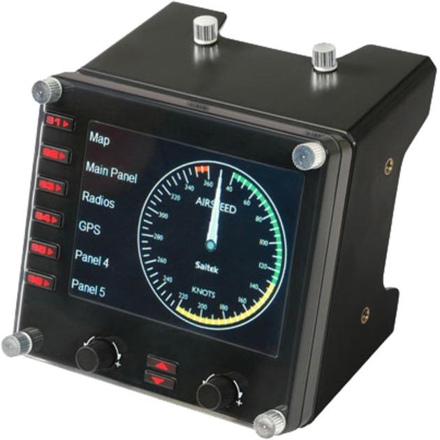 Saitek Pro Flight Instrument Panel, Manette de jeu