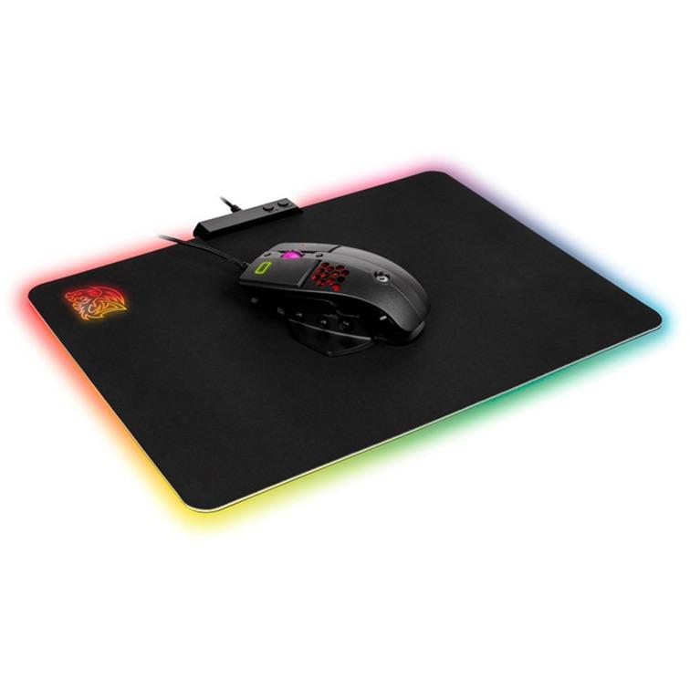 DRACONEM RGB – Cloth Edition Noir, Tapis de souris