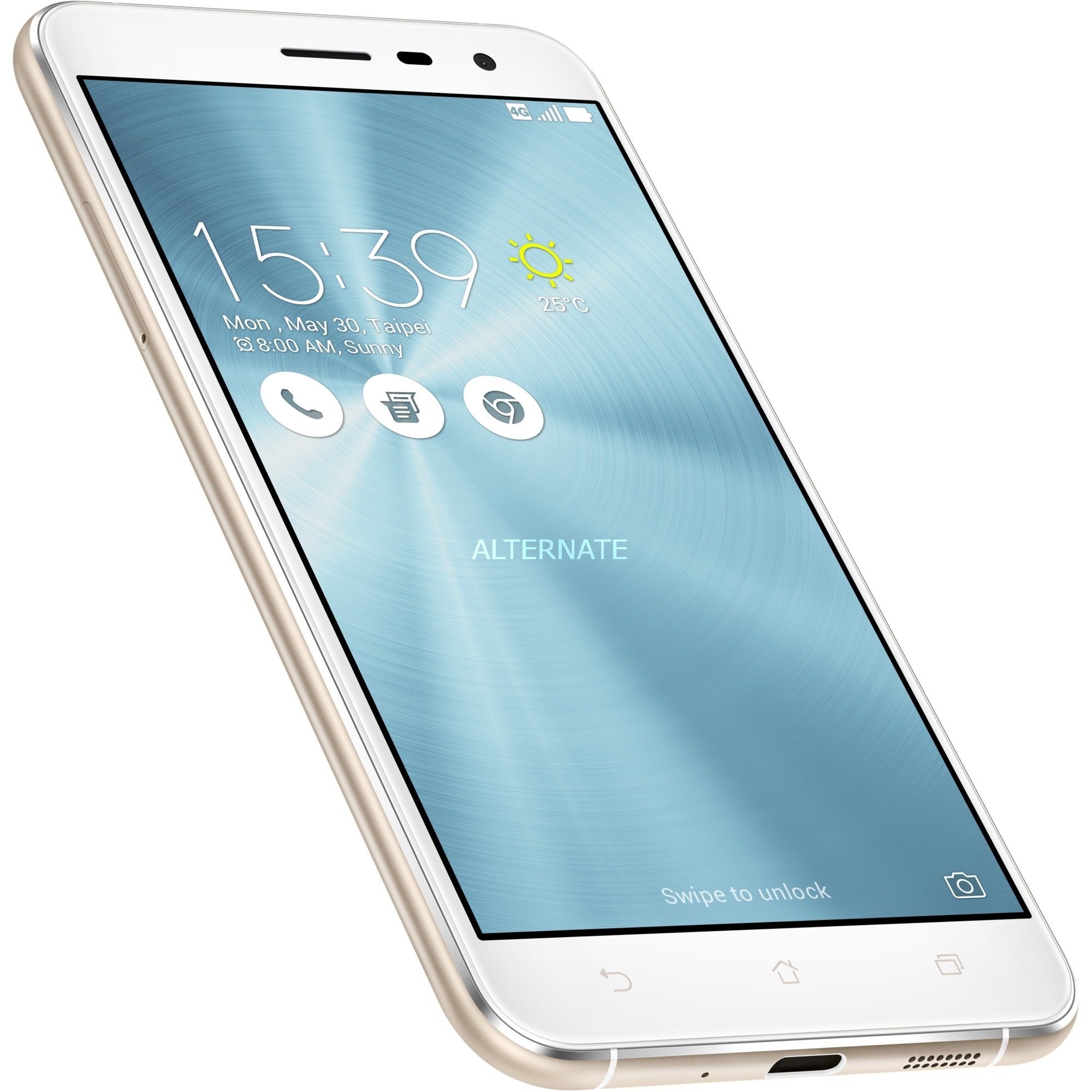 ZenFone 3 ZE552KL-1B002WW Double SIM 4G 64Go Blanc, Mobile