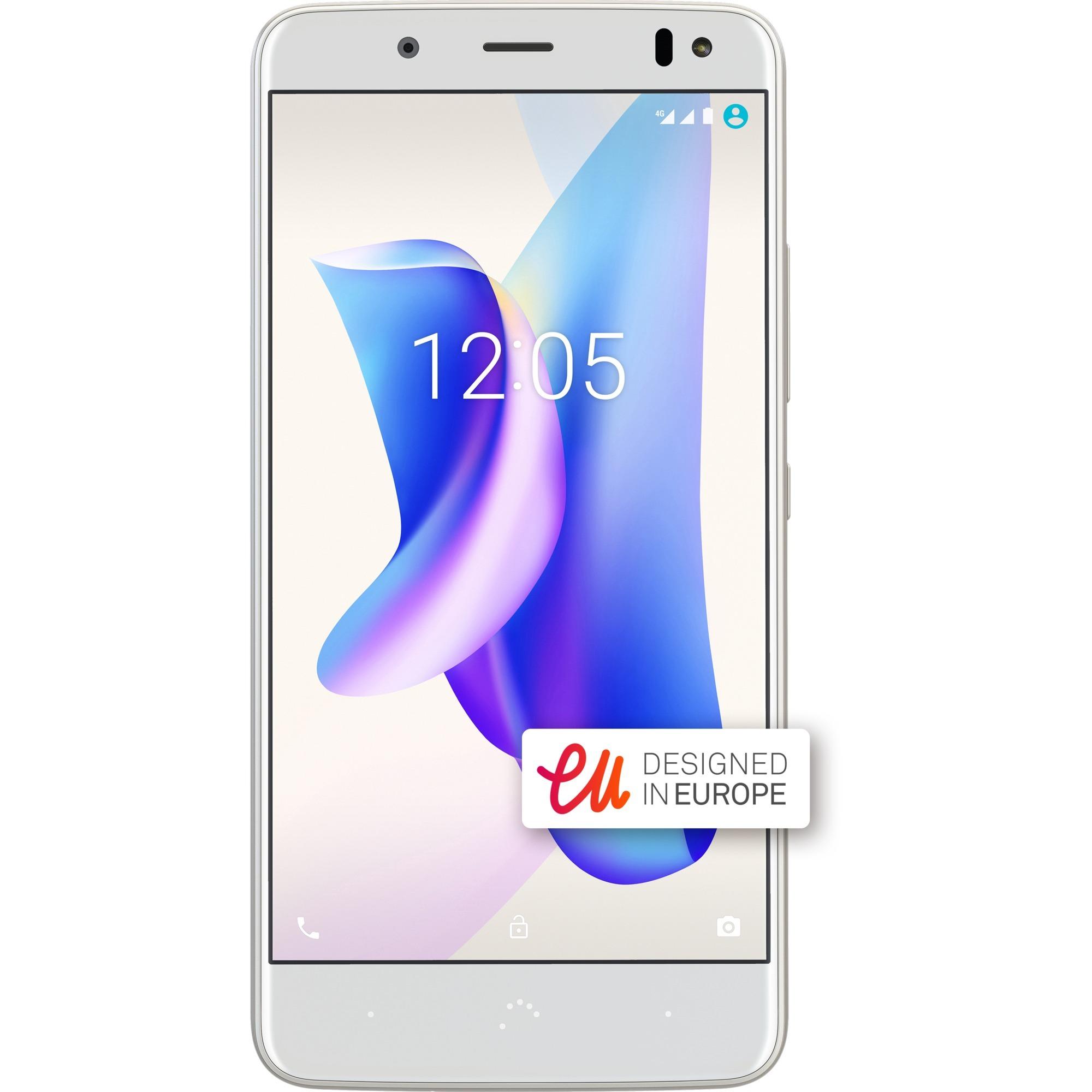Aquaris U2 Lite Double SIM 4G 16Go Or, Blanc, Mobile