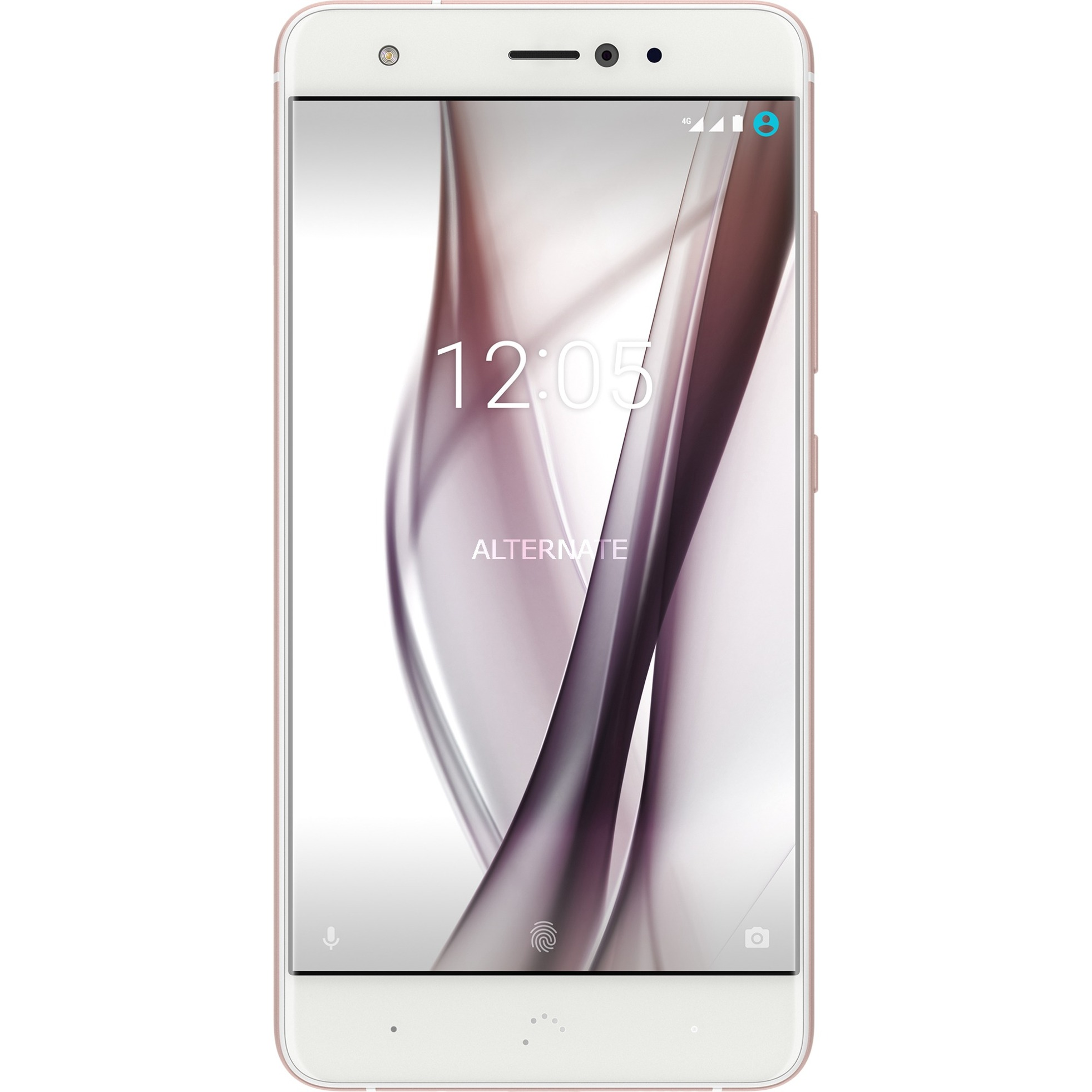 Aquaris X Double SIM 4G 32Go Rose, Blanc, Mobile