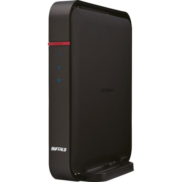 WZR-1166DHP Bi-bande (2,4 GHz / 5 GHz) Gigabit Ethernet Noir routeur sans fil