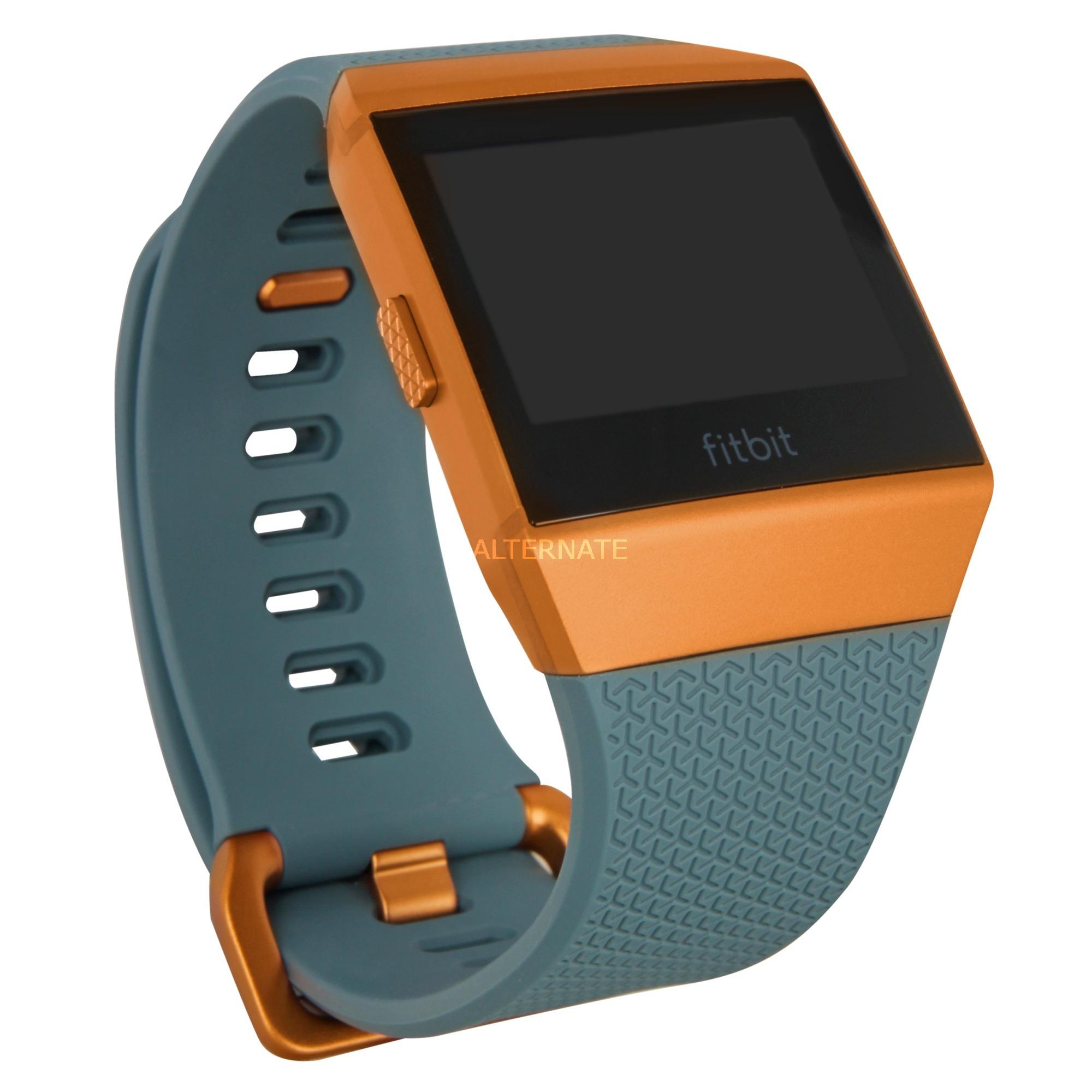 Ionic LCD GPS (satellite) Bleu, Orange montre intelligente, Fitness tracker