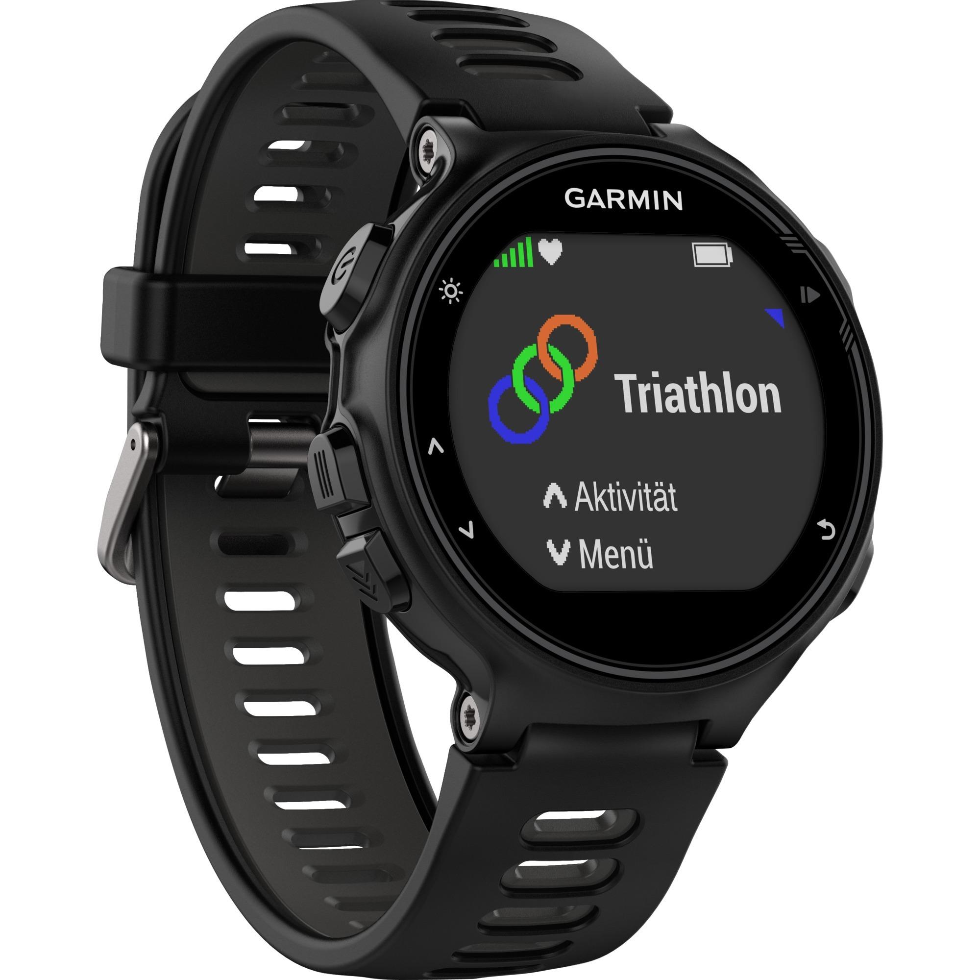 Forerunner 735XT Noir, Gris montre de sport, Fitness tracker