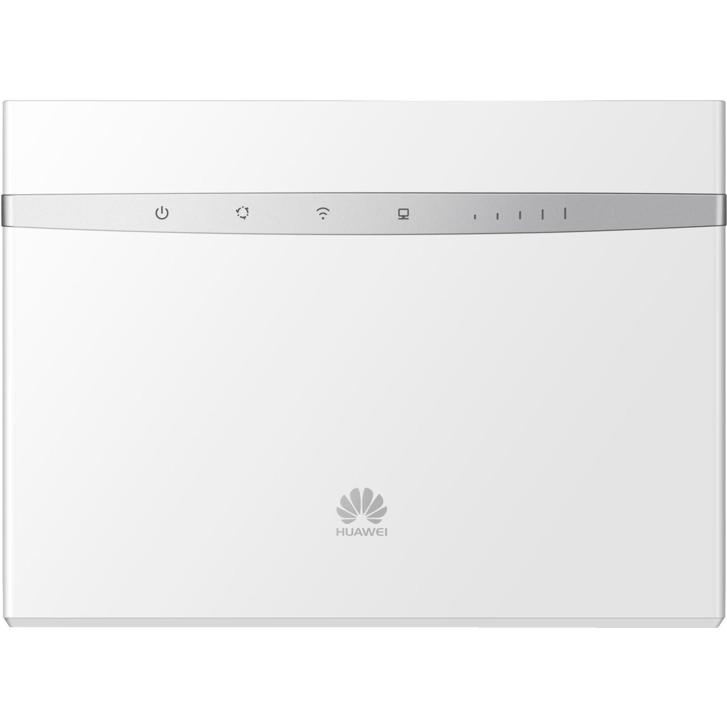 B525 Bi-bande (2,4 GHz / 5 GHz) Gigabit Ethernet 3G 4G Blanc routeur sans fil