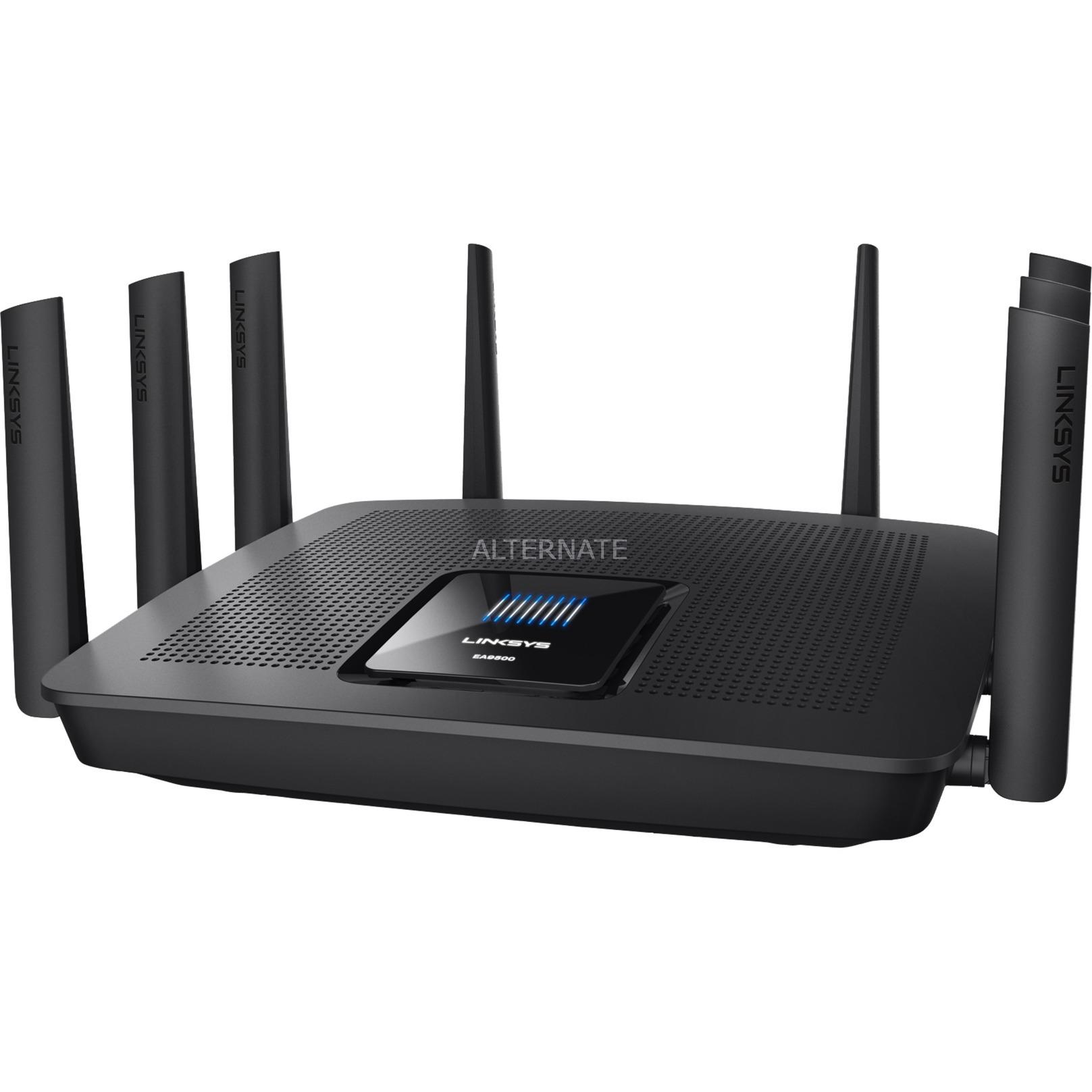 AC5400 Tri-bande (2,4 GHz / 5 GHz / 5 GHz) Gigabit Ethernet Noir routeur sans fil