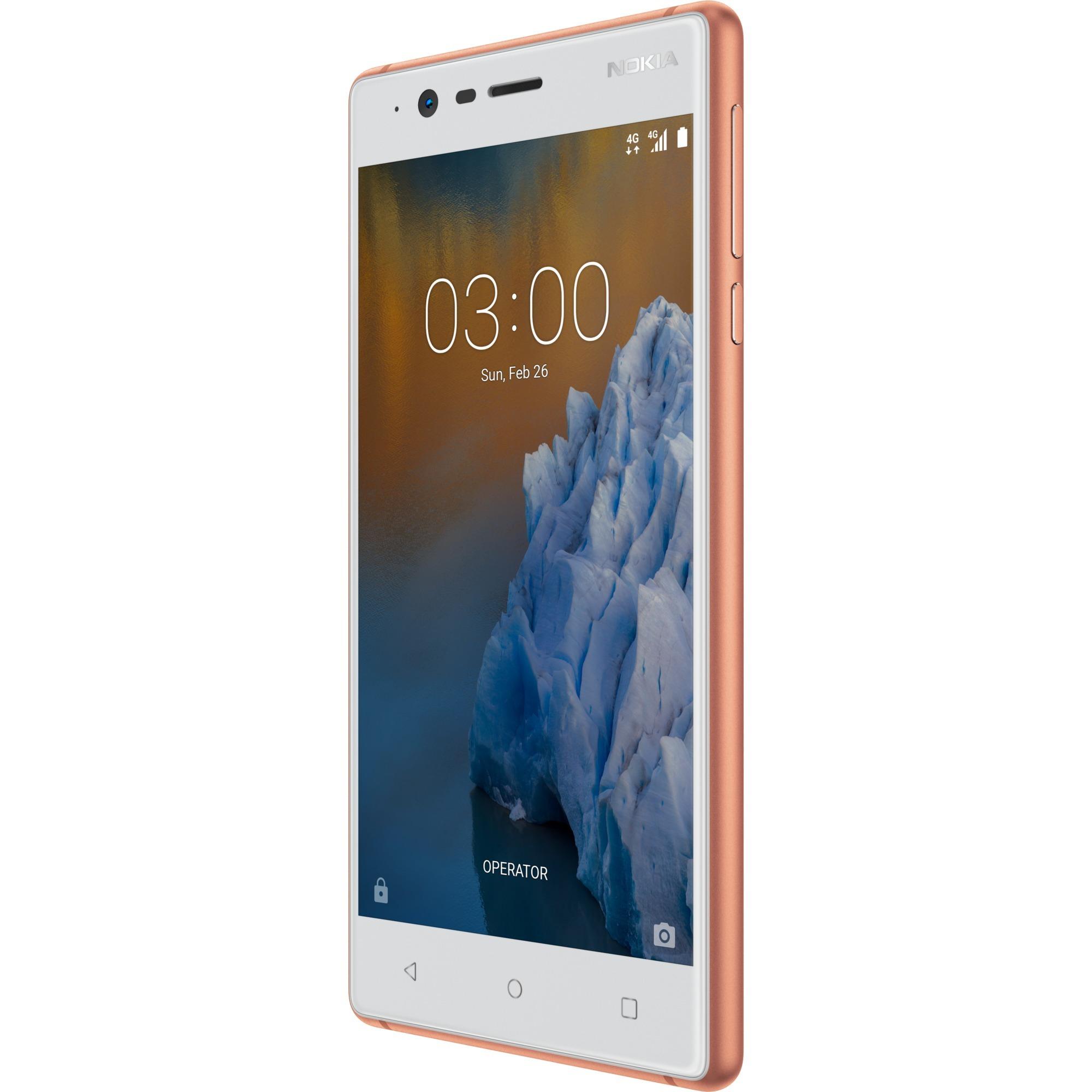 3 Double SIM 4G 16Go Blanc, Mobile