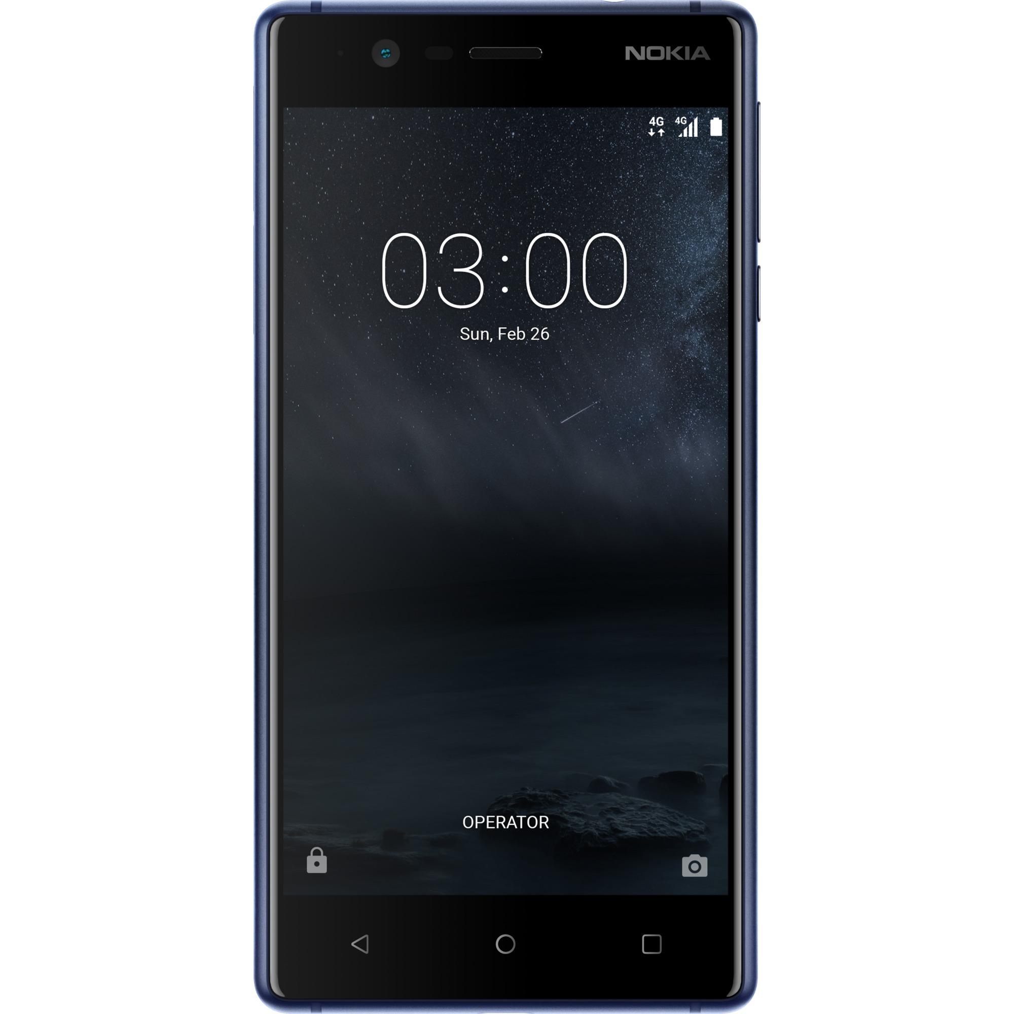 3 Double SIM 4G 16Go Bleu, Mobile