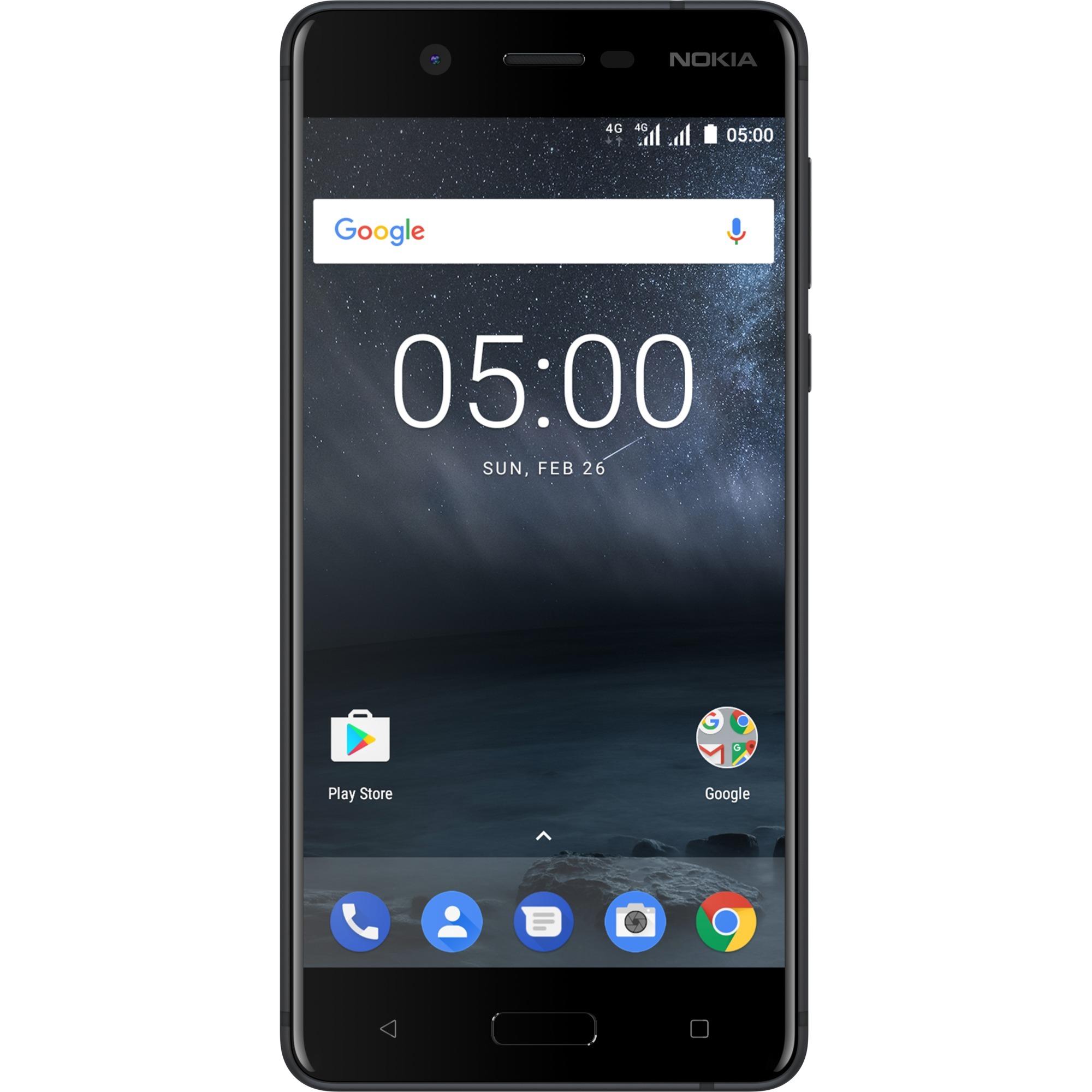 5 Double SIM 4G 16Go Noir, Mobile