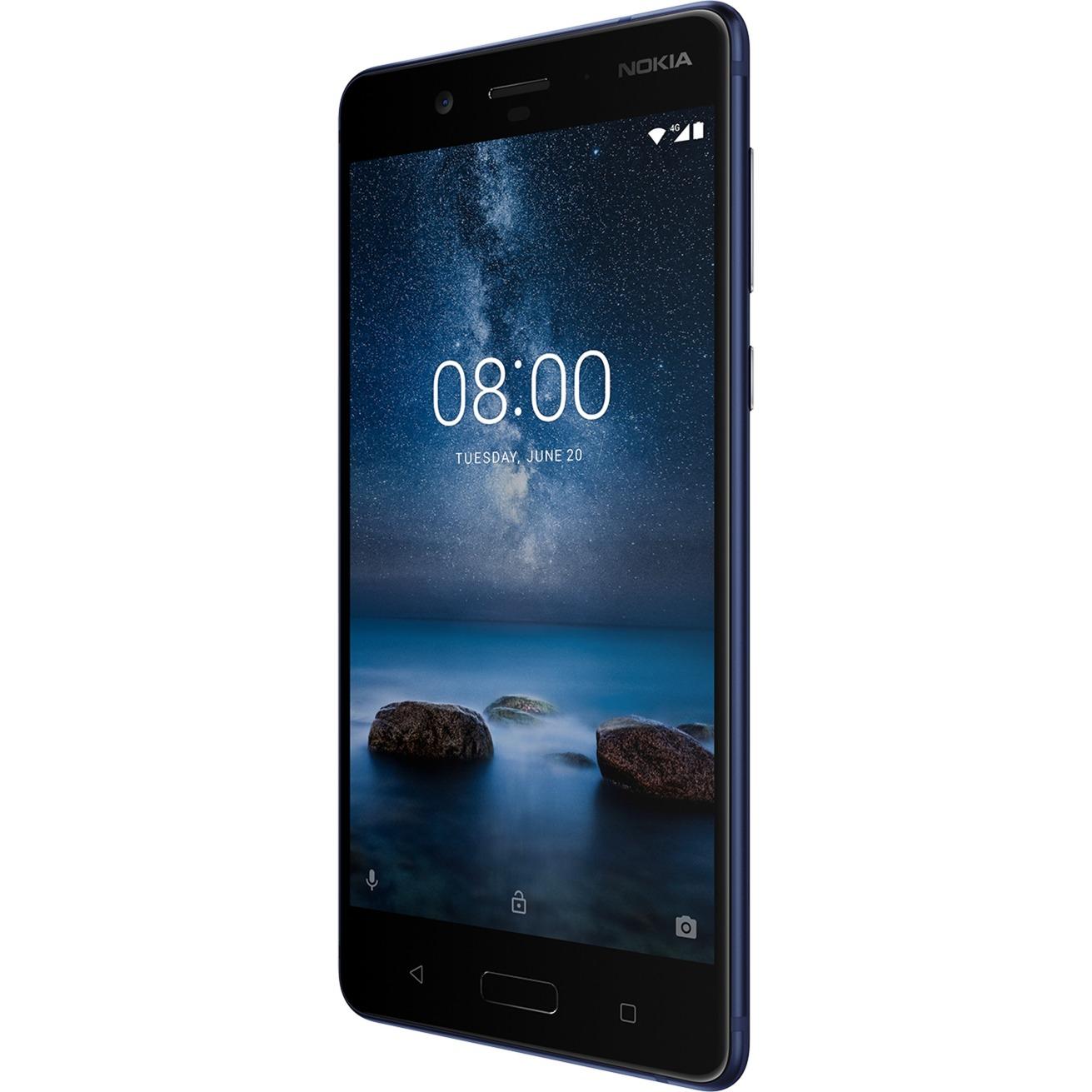 8 4G 64Go Bleu, Mobile