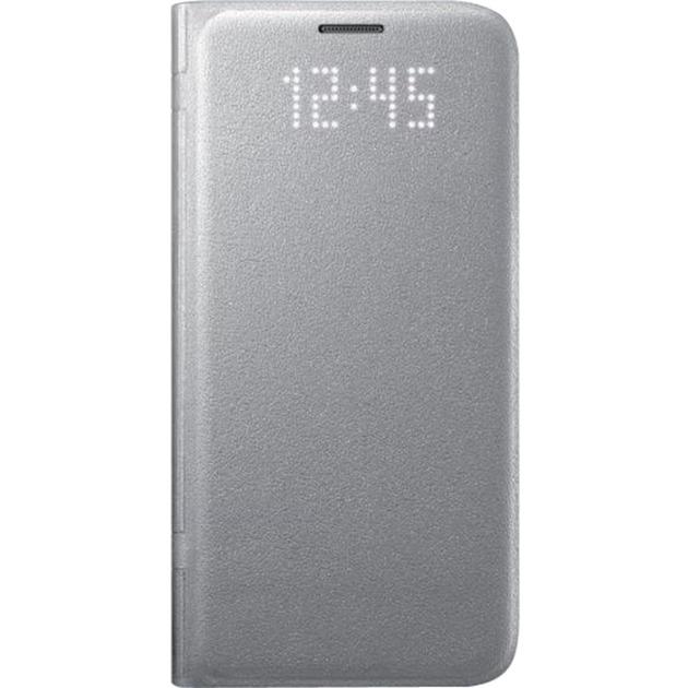 LED View Etui pour Samsung Galaxy S7 Argent, Étui de protection