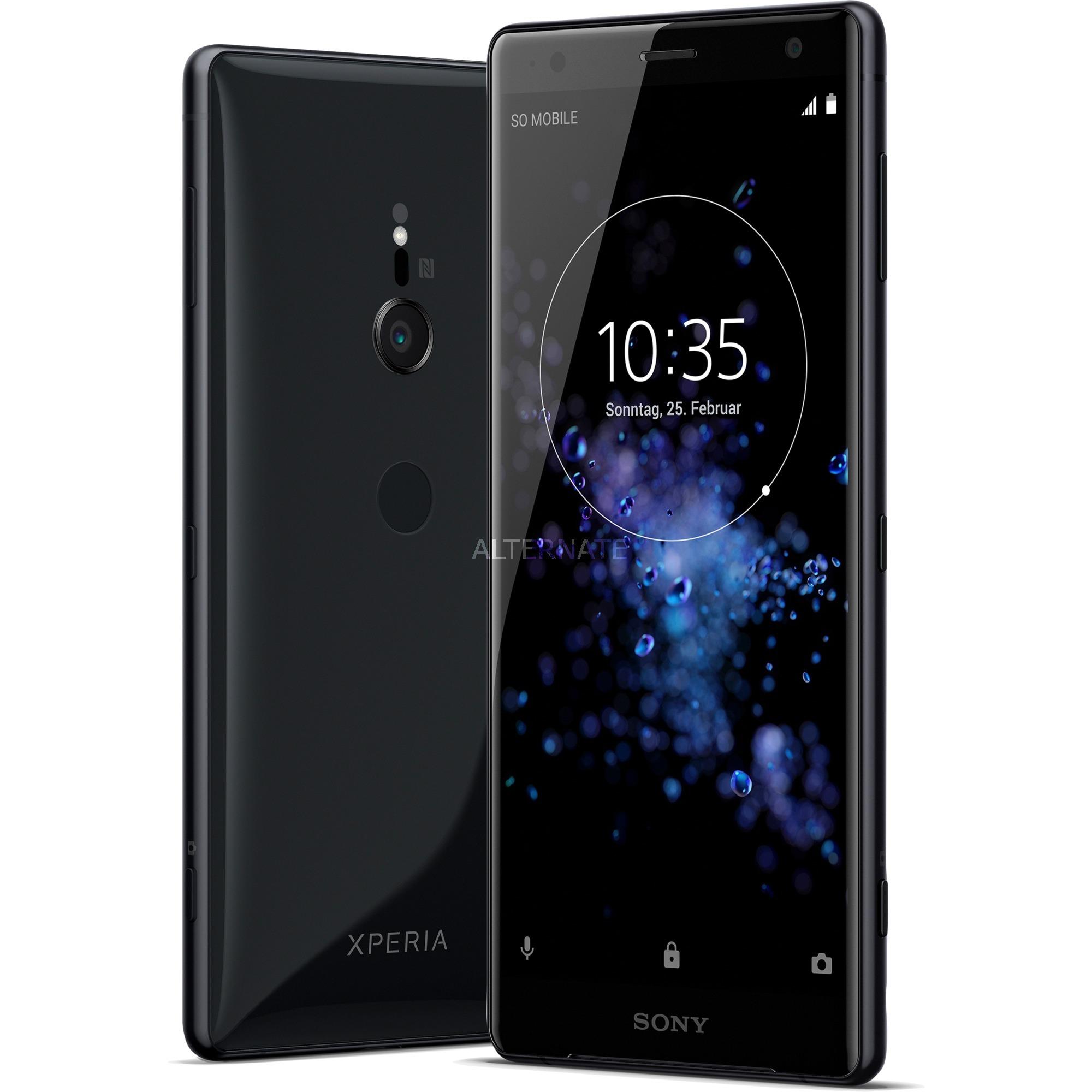 Xperia XZ2 Double SIM 4G 64Go Noir, Mobile